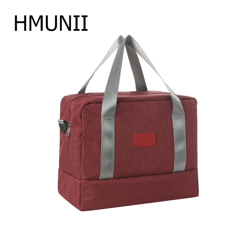 HMUNII Fashion Gym Bag Shoes Compartment Travel Duffel Swim for Women and Men Multifunctional Outdoor