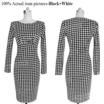 Fashionable Women Clothes 2017 Autumn Polka Dot Print Women Dresses Long Sleeve Plus Size 4XL Casual Dress Vestidos Femininos 1