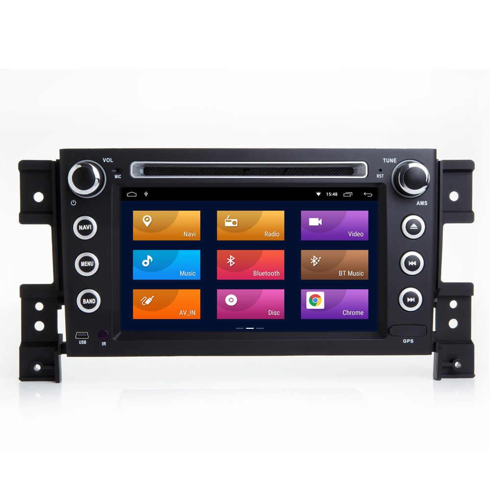 """COIKA 7 """"Android 8,1 системы головное устройство Автомобильный плеер для Suzuki Grand Vitara 2005-2015 gps Navi Mutimedia Radio2 + 16 г оперативная память Google AUX"""