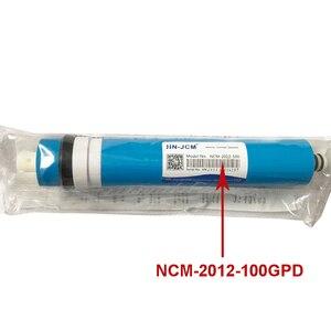 Image 2 - 100 GPD الجاف NCM RO غشاء للسكن السكنية منقح مرشح مياه معالجة نظام التناضح العكسي NSF/ANSI القياسية