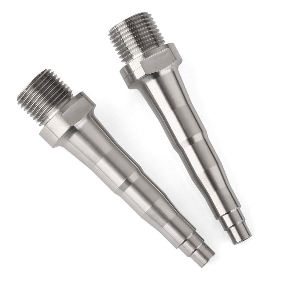 2Pcs Titanium Ti Pedal Spindles Axle fit for SpeedPlay Zero X1 X2 /& Light Action