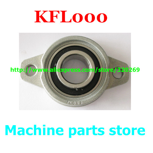 Metal Pillow Block Bearing Flange 8mm KFL08 FL08 1 PCS