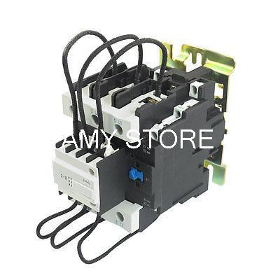 CJ19-95 Ui 500V 380V Coil 95A Pole 1NO Changeover Capacitor AC Contactor