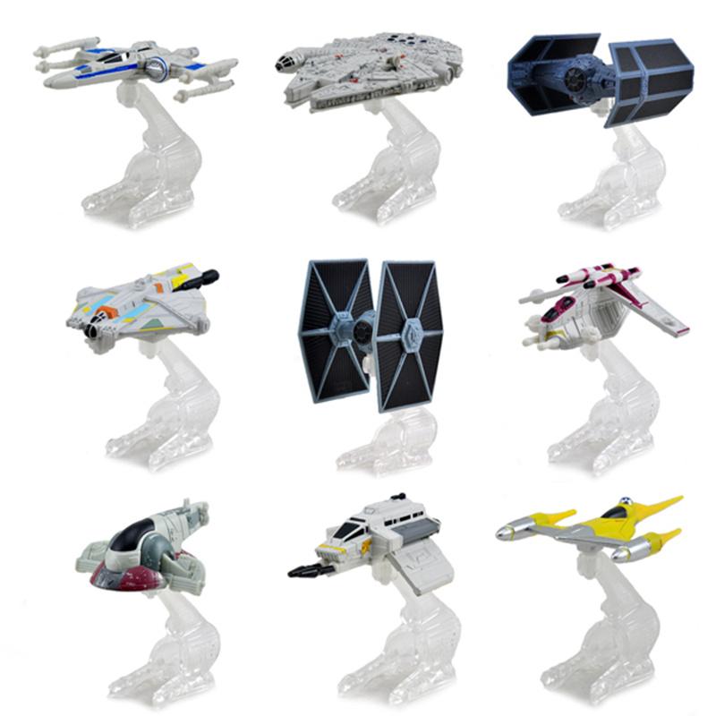 FGHGF Star Wars Starship Assort Toys  1:64 Scale Diecast Metal Alloy Modle PVC Action Figure Doll Model Toy For Kid CHILD Gift