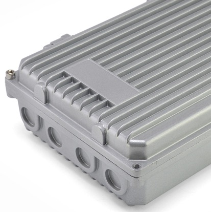 280 185 80mm Die cast aluminum housing heat amplifier box enclosure