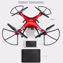 SYMA X8HC 6-Axis drones with HD Camera X8HW with Wifi Real-Time X8HG RC Quadcopter Fix High Hover UAV Drone Helicopter gift Toy