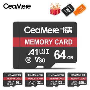 Image 1 - CeaMere Micro SD Card Class10 UHS 1 8GB Class 6 16GB/32GB U1 64GB/128GB/256GB U3 หน่วยความจำFlash MicroSDสำหรับสมาร์ทโฟน