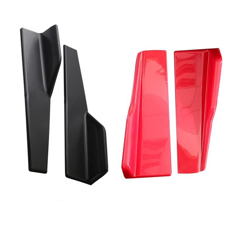 Car Exterior Parts Universal Bumpers Side Skirt Fully Surrounded By Modified Classic Sports Carbon Fiber Side Skirt