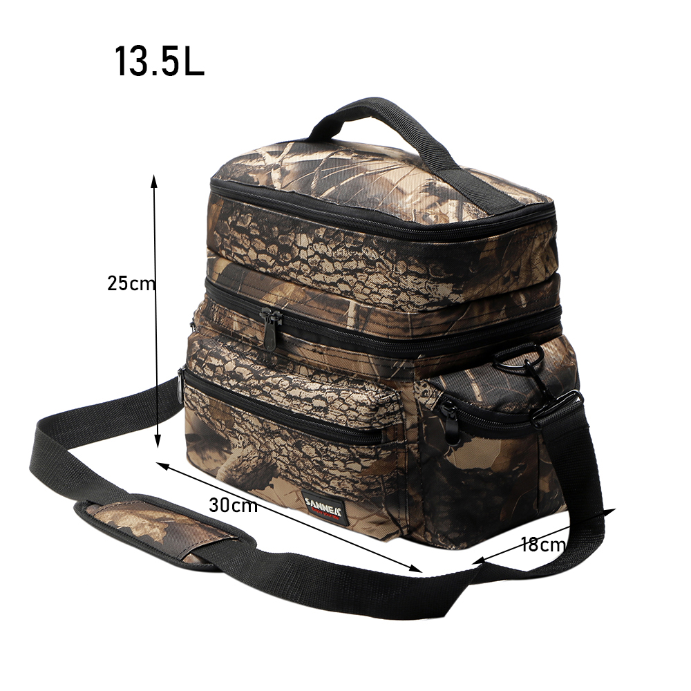 d51ae65f04f2 ④Санне камуфляж пикник мешок Термальность сумка-холодильник для Еда ...