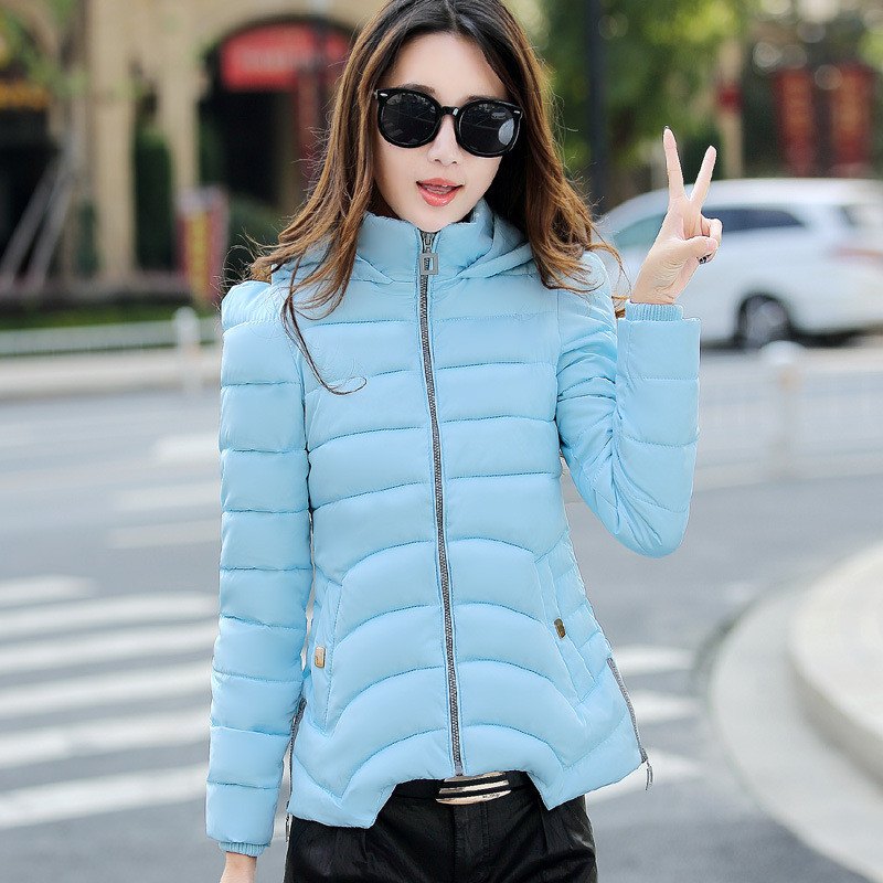 New Winter Coat Women Fashion Wadded Jacket Female A-Line Version Casual Parka Short Cotton Jackets Plus Size Ladies Coats C1152 wadded jacket female short winter coat women slim thin coat removable hooded cotton female parka casual jackets plus size c1118