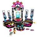 Bela 448 Unids Amigos Pop Star Mostrar Etapa Building Block set Livi Andrea Niñas Juguete Compatible con juguetes Amigos 41105