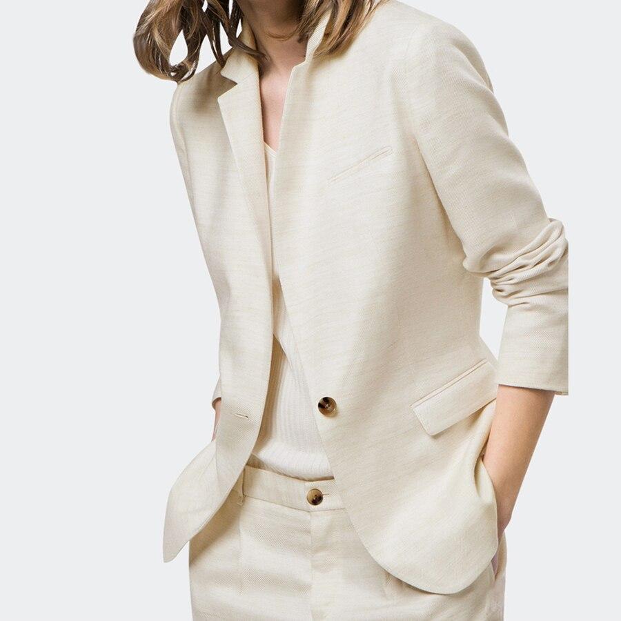 Plus Size Autumn Women Blazer Jacket Spring Female Business Suit Female Jackets Elegant Eminino Manga Longa Office Suits 50N0519