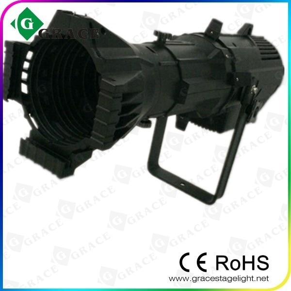 Free Shipping Led Ellipsoidal Spotlight 200w Warm White 3ch 19 Degree Light