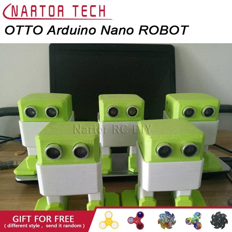 OTTO Arduino Nano ROBOT fabricant de sources ouvertes évitement d'obstacles bricolage humanité compagnon de jeu 3D