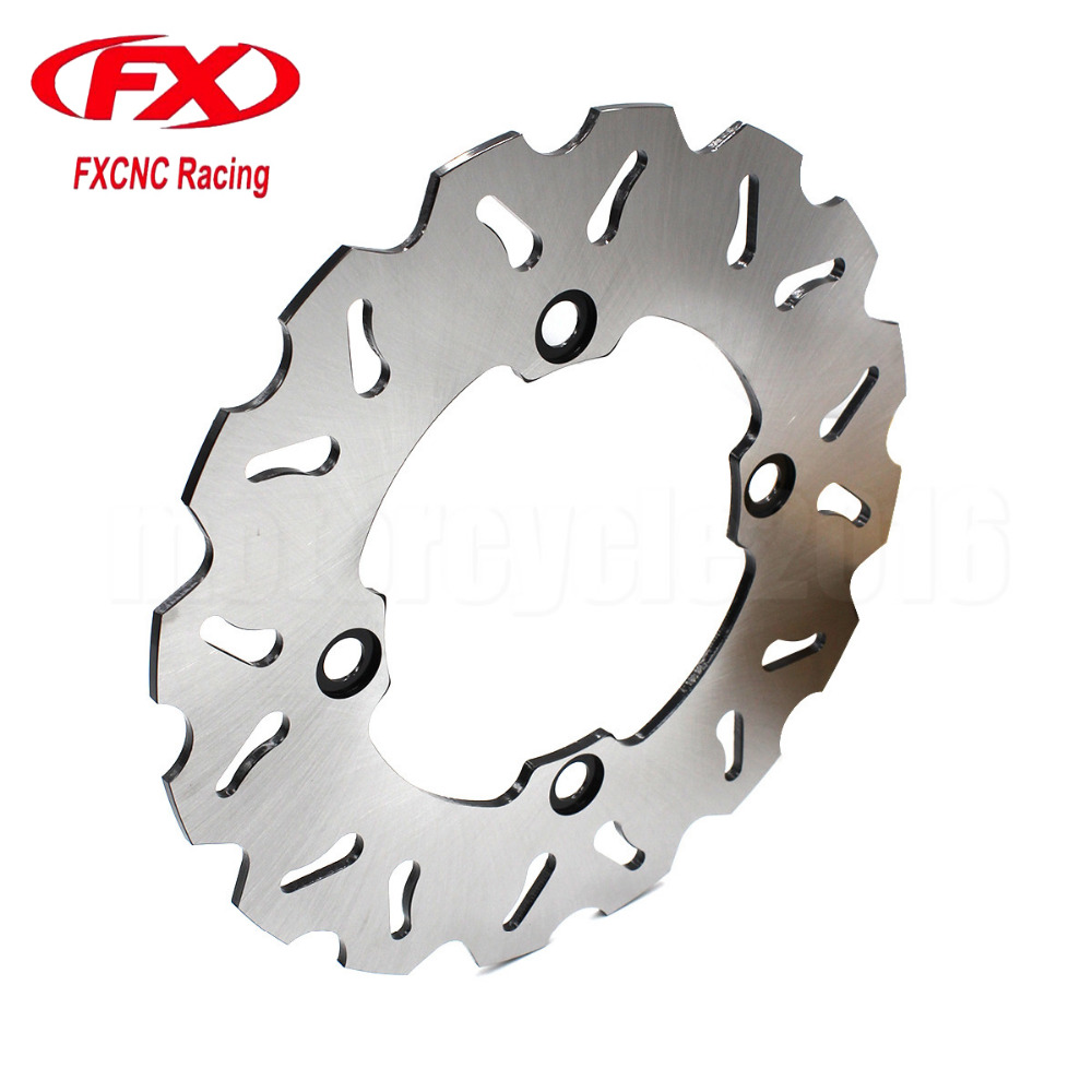Motorcycle 220mm Rear Brake Disc Rotor For Honda FX 650 Vigor X 650Y 1999-2003 2000 2001 2002 CBR 150R 2000-2003 2001 2002 rear brake discs rotor for yamaha yzfr1 2003 2013 yzfr6 2003 2012 black motorcycle accessories