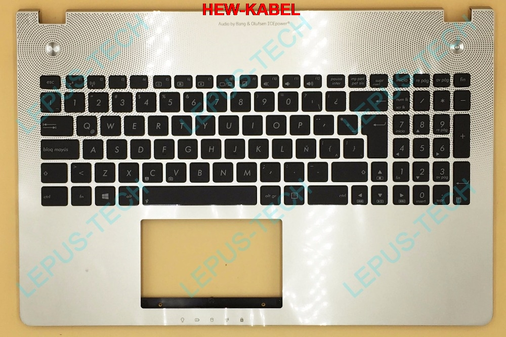 For, Upper, Top, Silver, ASUS, Keyboard
