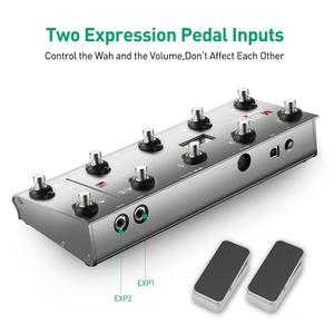 Image 3 - MIDI Commander Guitar Portable USB MIDI Foot Controller With 10 Foot Switches 2 Expression Pedal Jacks 8 Host Presets For Live