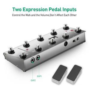 Image 3 - Midi Chỉ Huy Đàn Guitar Di Động USB Midi Chân Điều Khiển Với 10 Chân Công Tắc 2 Biểu Hiện Đạp Chân Jack Cắm 8 Dẫn Chương Trình Cài Đặt Sẵn Cho sống