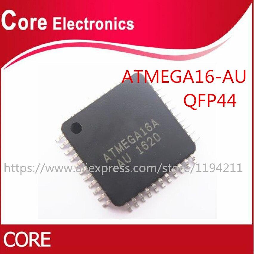 10 шт./лот ATMEGA16A-AU TQFP-44 8-битный микроконтроллер с 16 к байт в системы программируемый Flash