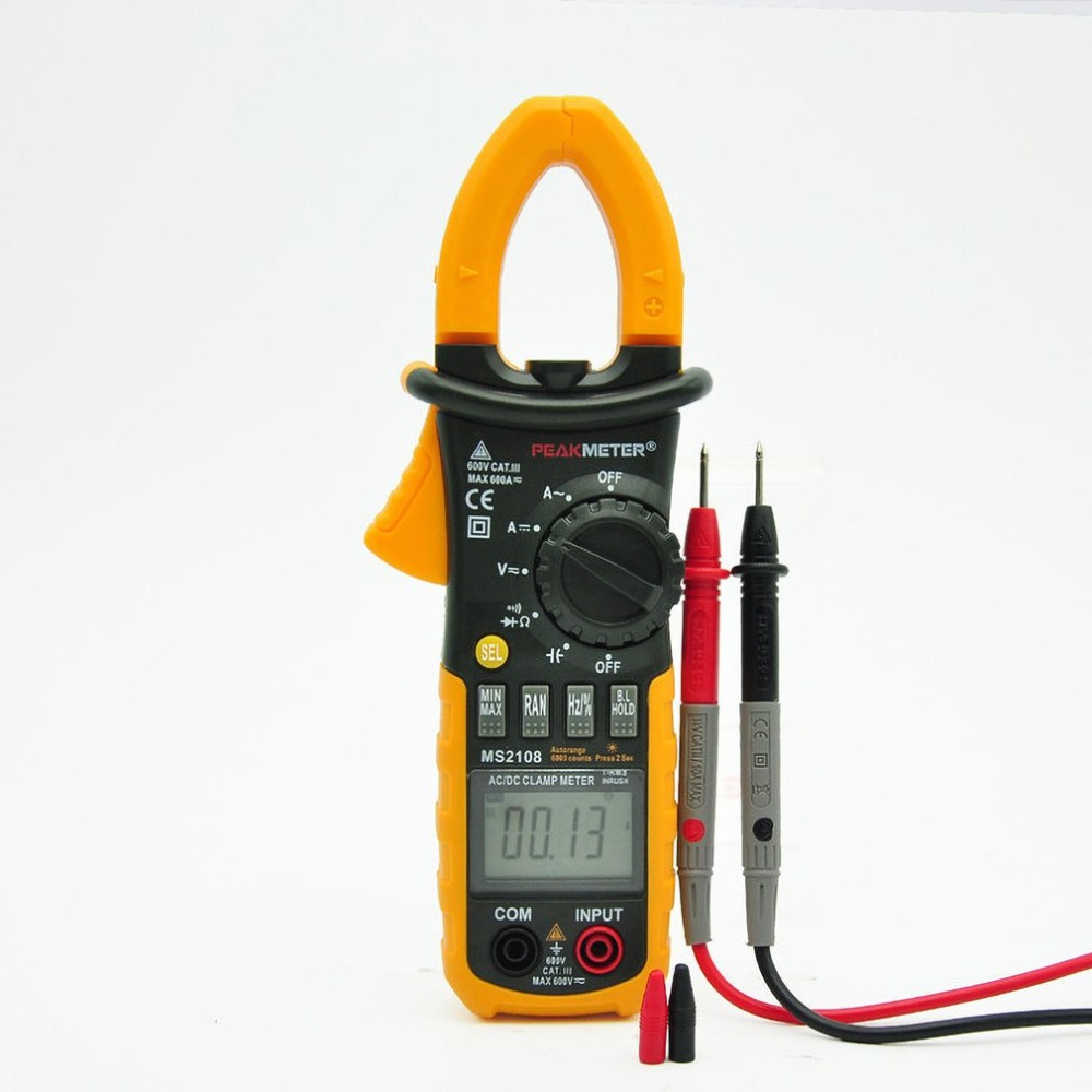 Digital AC/DC Clamp Meter Digital Display Clamp Type Electrical Professional Products Safty For Home Industorial UseDigital AC/DC Clamp Meter Digital Display Clamp Type Electrical Professional Products Safty For Home Industorial Use