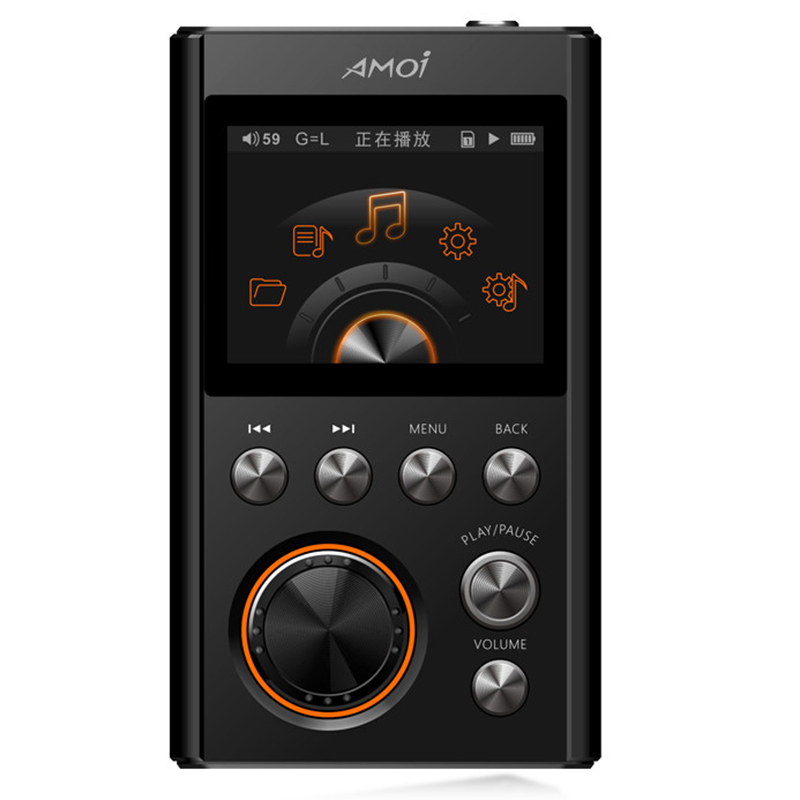 AMOI X10 MP3 Player Upgraded Version HIFI Lossless DSD Music Player MP3 Sports Walkman музыка mp3 yescool mp3 music player lossless noise reduction обучение high definition screen card mp4 sports portable walkman 8gb x2 rose gold