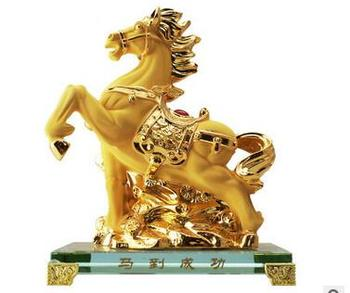 Plating Velvet sand gold out animal rat home craf ox tiger rabbit dragon snake horses and sheep Monkey crafts sculpture statues