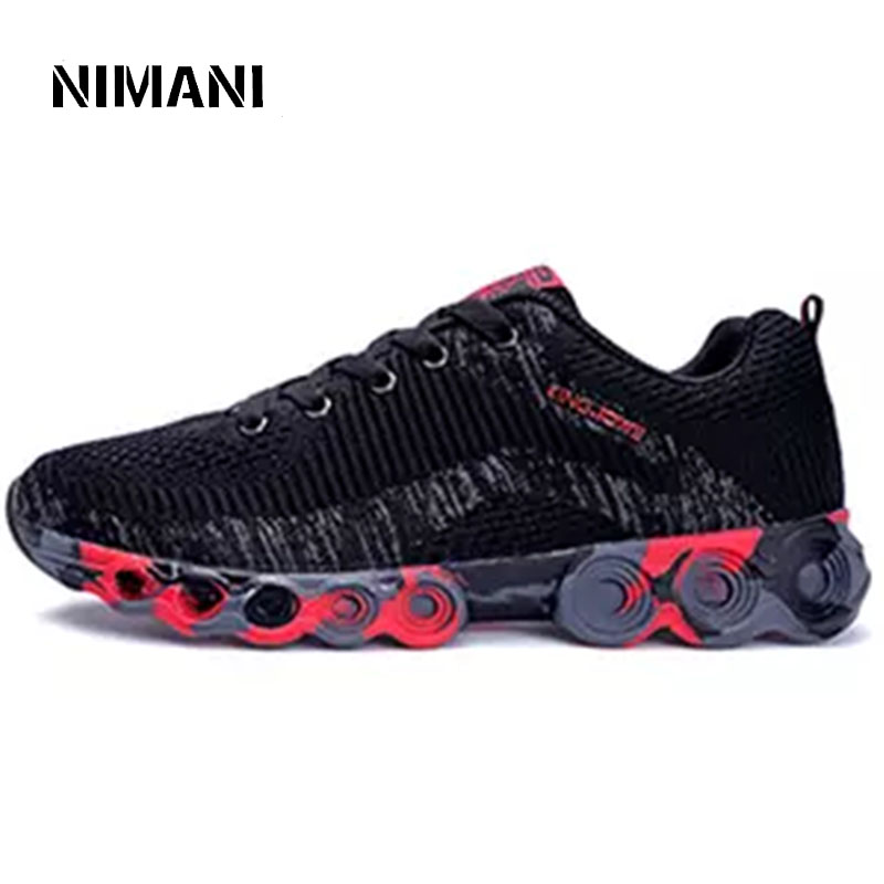 Respirant Hommes Black Taille Sneakers red Chaussures 44 39 2018 Mode Appartements D'été blue Casual tFFpwr
