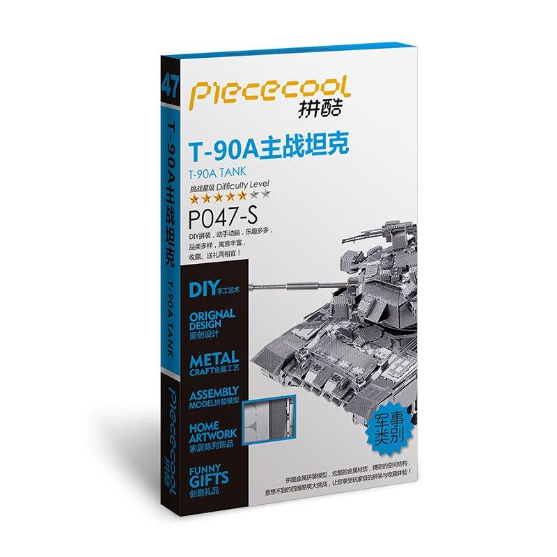 Piececool 2017 T90 TANK- ის უახლესი 3D - ფაზლები - ფოტო 3