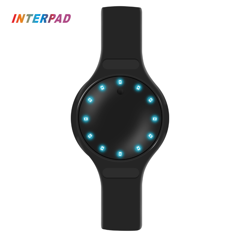 Interpad Cicret Smart Bracelet LED Lamp Display Instructions Smart Wristband Ped