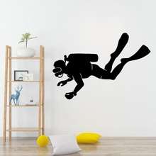 DIY Art diver Wall Sticker Home Decoration Accessories Removable Wallpaper