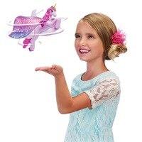 H & JOIE DIY Volant Licorne Apprentissage et L'éducation Infrarouge D'admission À Commande de Vol Fée Licorne Poupée RC Bébé jouets pour Cadeau de noël