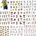 1 pc 2016 Dos Desenhos Animados Do Rato Do Gato De Água Transferência Nail Art Stickers Foil Polonês Wraps DIY Ferramentas de Beleza Do Prego Decalques Decoração NC131