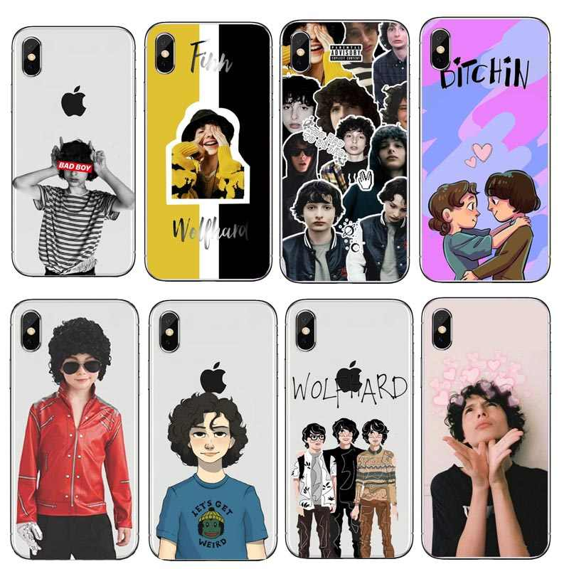 Jethro Tull King Crimson Finn Wolfhard Stranger Things  Case For iPhone  5 5S SE 6 7 8 6S 7Plus 8Plus X 10