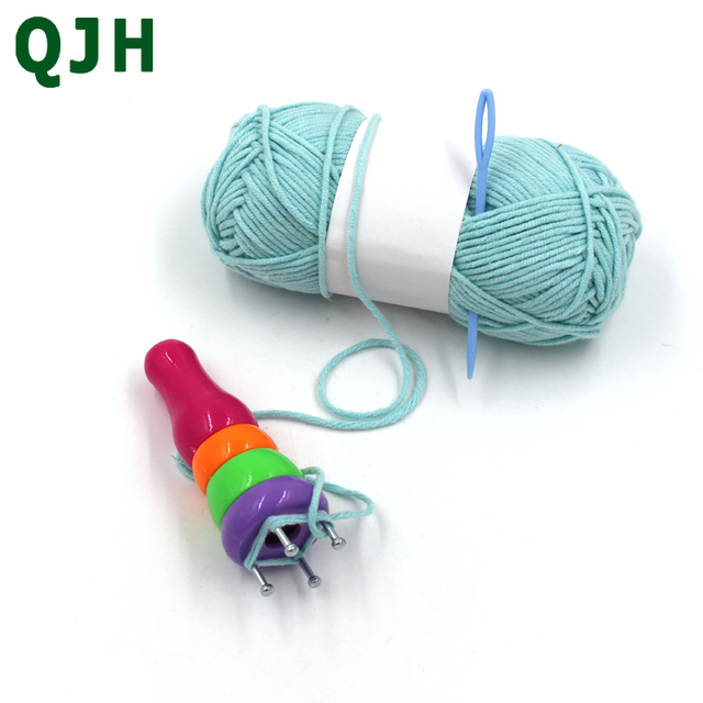 QJH ABS Plastic Knitter Spool Loom Knitting for Scarf Shawl Hat ...