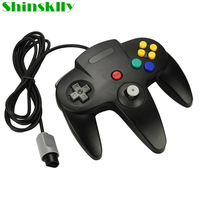 N64 Wired Joypad Gamepad For Nintendo 64 N64 Console Video Game Wired Controller Black Blue Gray