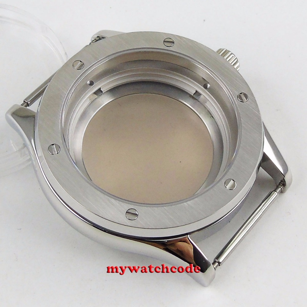42mm 316L steel sapphire glass automatic Watch Case fit 24 jewels NH35 MOVEMENT