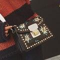 Старинные случайный цепи hotsale дамы партийные женщин известный дизайнер плеча crossbody сумки Бренд дизайн Вышивки