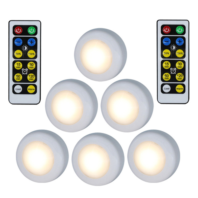 3W Wall Cabinet Light Wireless Dimmable Touch Sensor LED ...