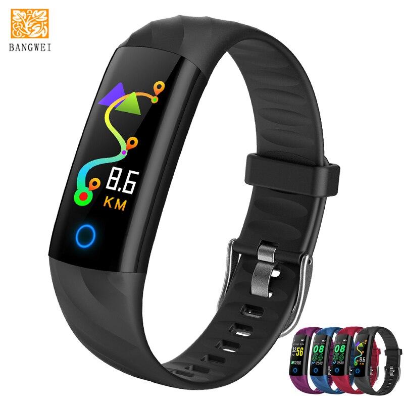 все цены на IP68 Waterproof Smart Watch Pedometer Heart Rate Monitor Blood Oxygen Fitness Tracker Smart Wristband Multi Sport Smart Band+box онлайн
