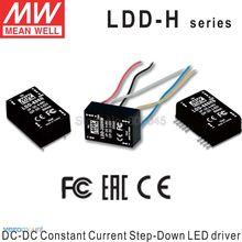 Meanwell LDD 350H LDD 500H LDD 600H LDD 700H LDD 1000H DC DC זרם קבוע צעד למטה LED נהג LED Coverter