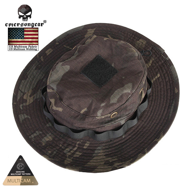Emersongear Hunting Caps MILITARY Tactical Boonie Hat Multicam Black Bucket  Hats EM8729-in Hunting Caps from Sports   Entertainment on Aliexpress.com  ... 7f2e68fe35d