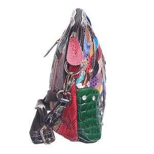Image 3 - حقائب كتف نسائية فاخرة مصنوعة من الجلد الطبيعي حقيبة كروس الربيع حقيبة كروس حقائب نسائية لون عشوائي