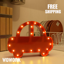 carnival letter lights 3d channel letter led love letters car shape Lighted alphabet metal logo store front led sign letters