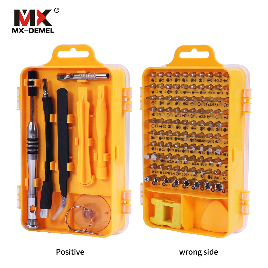 Brand 108 in 1 Screwdriver Sets Multi-function Computer Repair Tools Essential Tool Digital Mobile Phone Repair Tool Kit 100pcs pack 3 in 1 eyeglass screwdriver sunglass glasses watch repair tool kit with keychain portable screwdriver tool wholesale