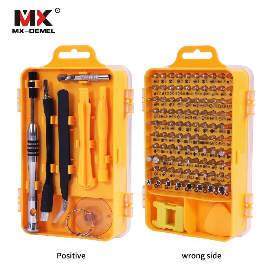 Brand 108 in 1 Screwdriver Sets Multi-function Computer Repair Tools Essential Tool Digital Mobile Phone Repair Tool Kit