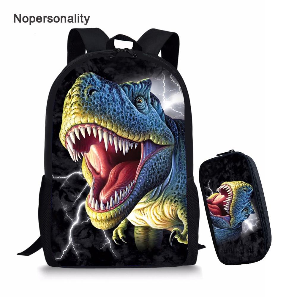 Jurassic World Backpack NEW 3-D Canvas Book Bag Jurassic Park T-Rex NWT