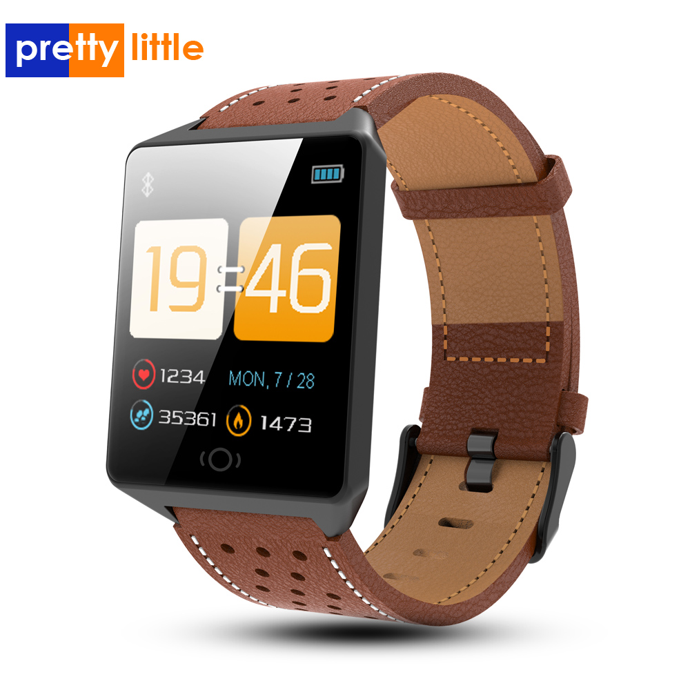 CK19 Smart Watch Android/IOS Waterproof Wearable Device Bluetooth SmartWatch Pedometer Heart Rate Monitor Color Display