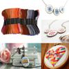 100 Colors Embroidery Thread Hand Cross Stitch Floss Sewing Skeins Craft Embroidery Thread Floss Skein