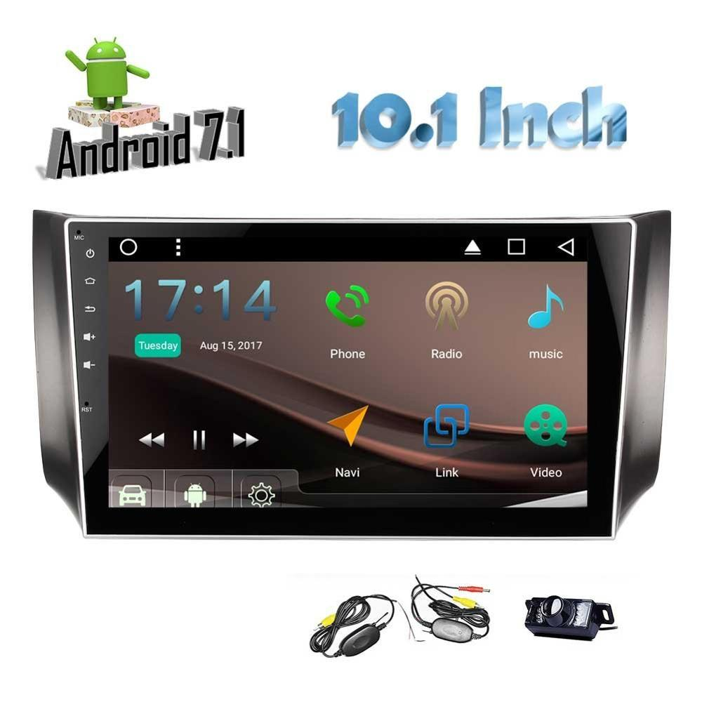 Car Stereo for Nissan Android 7 1 2Din Quad Core Headunit GPS Navigation Bluetooth Auto Radio