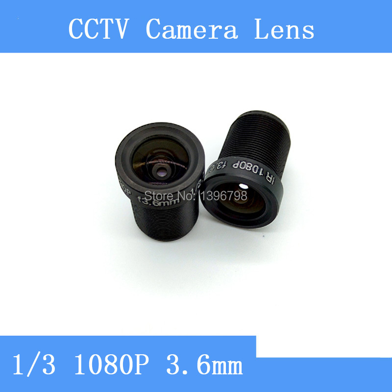 PU`Aimetis Factory direct surveillance camera lens M12 interfaces  F2 fixed aperture 1080P 3.6mm CCTV lens pu aimetis factory direct surveillance infrared camera pinhole lens 10mm m12 thread cctv lens